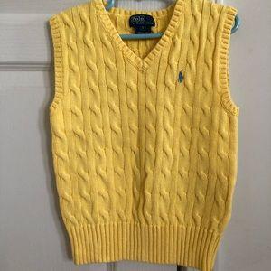 Yellow Polo Vest